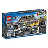 LEGO 60151 City Great Vehicles Dragster Transporter Building Toy