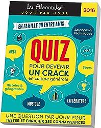 Almaniak Quiz pour devenir un crack en culture générale 2016
