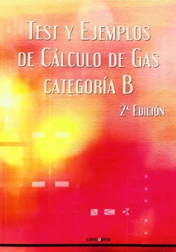 Descargar Libro Libro Test Y Ejemplos De Calculo De Gas. Categoría B - 2ª Edición de Cano Pina