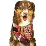 RAHJK Hunde Bandana,Weihnachts Kragen Schal Lätzchen, Dreieckstuch Halsbänder Haustier für Kleine, Mittelgroße Große Hunde Katzen Custume Ballsport