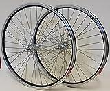 28 Zoll Fahrrad Laufradsatz REFLEX Hohlkammerfelge schwarz Shimano TX800 Vollachse schwarz Niro schwarz