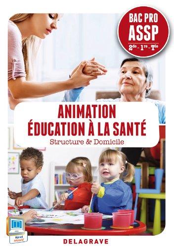 Animation éducation à la santé 2e 1e Tle Bac Pro ASSP : Structure & Domicile