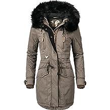 Khujo Damen Winter Mantel Winterparka YM-JA 3 Farben + Camouflage XS-XXL