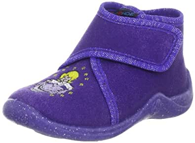 Rohde Kiddy 2101, Unisex - Kinder Hausschuhe, Violett (Violett 58), EU 18