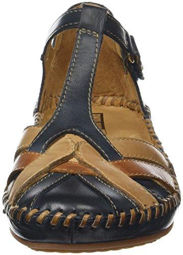 Pikolinos P. Vallarta 655, Sandali con Cinturino Alla Caviglia Donna Blu (Navy Blue)