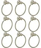 #7: Abyss 9 Set of Round Towel Ring/Napkin Ring - Stainless Steel, Glossy finish, ABDY-0724A