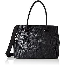 Kipling - Artego, Bolsas para portátil Mujer, Schwarz (Black Garden), One Size