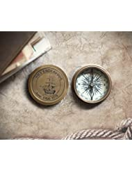 Store Indya, 3 Typen von Kompass Taschenkompass Maritime Schreibtisch Zubehör Campingzubehör Sammlerstücke Marschkompass