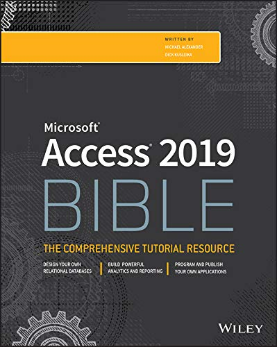 Access 2019 Bible (English Edition)