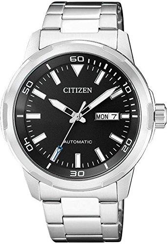 Citizen – Reloj automático de acero – NH8370-86E
