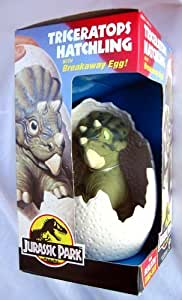 Triceratops Hatchling with Breakaway EGG (Toy, Jurassic Park) New by KENNER