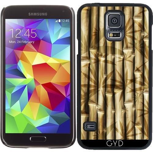 DesignedByIndependentArtists Hülle für Samsung Galaxy S5 (SM-G900) - Asien Bambus-Muster by WonderfulDreamPicture