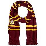 Queta Harry Potter Gryffindor Schal, gestrickt, warm, 190 cm rot rot