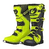 0329-5101 - Oneal Rider EU Motocross Boots 44 Neon Yellow (UK 9.5)