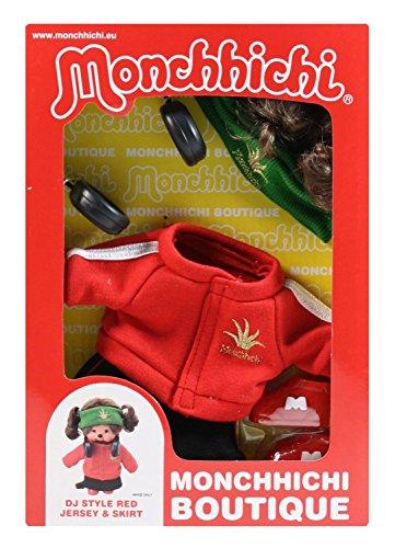 (Sekiguchi 254760 - Monchhichi Boutique B3 DJ Outfit, rot)