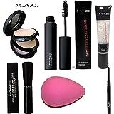 #10: best combo MAC Blender, Eyeliner, Kajal, Mascara, Compact and Primer