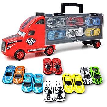 Joyin 11 En De Petites Sous Transporteur 1 Camion Moulé Voitures tdQCsrh
