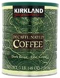 Kirkland Signature Decaffeinated Coffee Dark Roast Fine Grind 1.36kg Pack