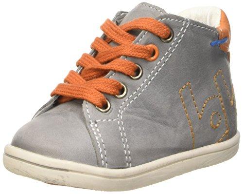Babybotte Foot, Chaussures Bébé marche bébé garçon Gris (062 Gris/Orange)