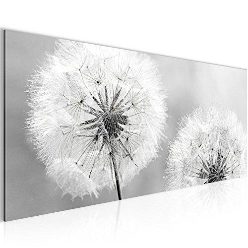 !!! SENSATIONSPREIS !!! Bilder – Wandbild - Vlies Leinwand - 100 x 40 cm - Pusteblume Bild - Kunstdrucke – mehrere Farben und Größen im Shop - Fertig Aufgespannt !!! 100% MADE IN GERMANY !!! - Blume – Natur 207112c