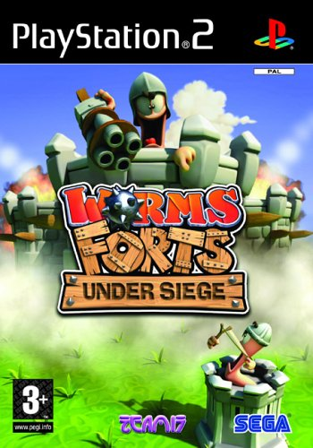 Worms Forts: Under Siege (PS2) [PlayStation2]