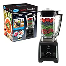 Quest High 35199 Heavy Duty Professional Power Blender with 2 Litre Jug, 9 Speed Settings and Turbo Pulse, Black/Silver, 2000 W