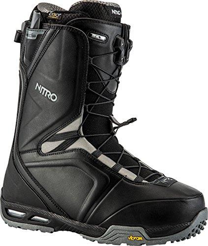 Nitro Snowboards Herren Team Tls'18 Snowboard Boot, Black, 29,5 (Freestyle Boots Snowboard Burton)