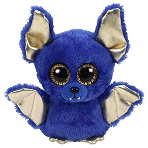 MYETO Plüschtier Blaue Halloween Fledermaus Plüsch Spielzeug Große Augen Niedlich, Plüsch Spielzeug Puppe Kreative Cartoon Plüsch Spielzeug Kinder 6