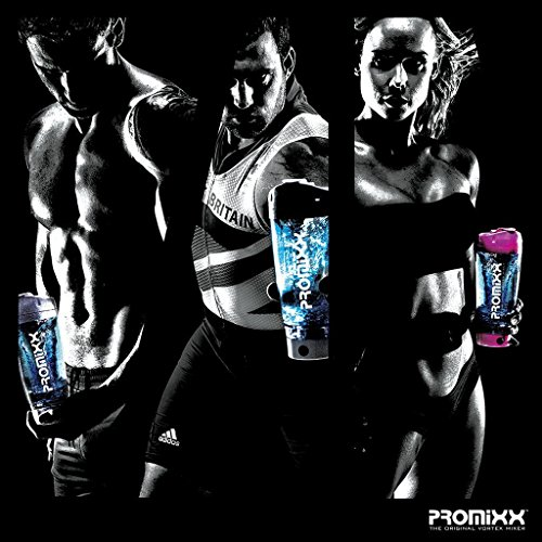 PROMiXX: The Original Vortex Mixer. Beautifully Engineered Battery-powered Protein Shaker / Blender Bottle with X-blade Technology. 100% Leak-proof Guarantee. 600ml /20oz. BPA-free