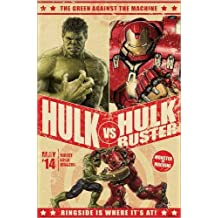 Póster Avengers: Age of Ultron - Hulk vs Hulkbuster - cartel económico, póster XXL