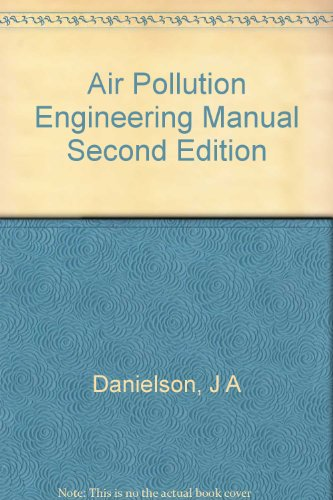 Air Pollution Engineering Manual Second Edition