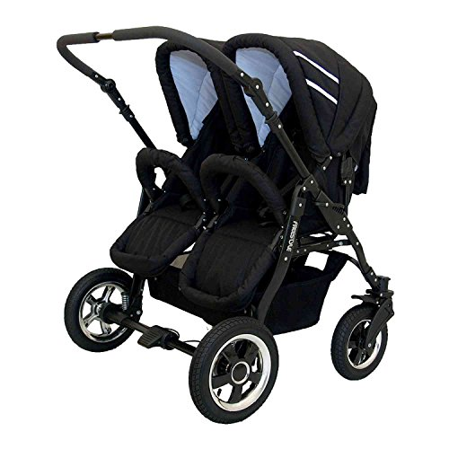 Zwillingskinderwagen Freestyle Twins 2in - 2
