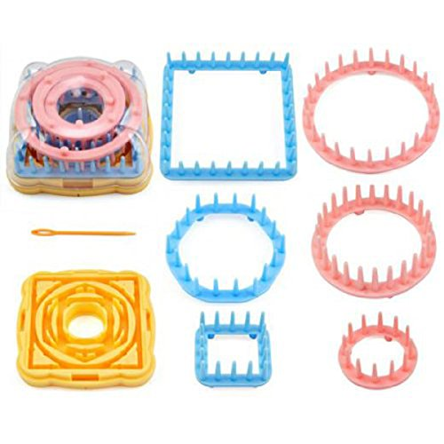 NUOLUX Fiori all'uncinetto maglieria imposta Craft Kit strumento con ago