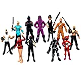 Ginkago Fortgames Action Figures Modell , Fans Character Figures 12Pcs Pack Set