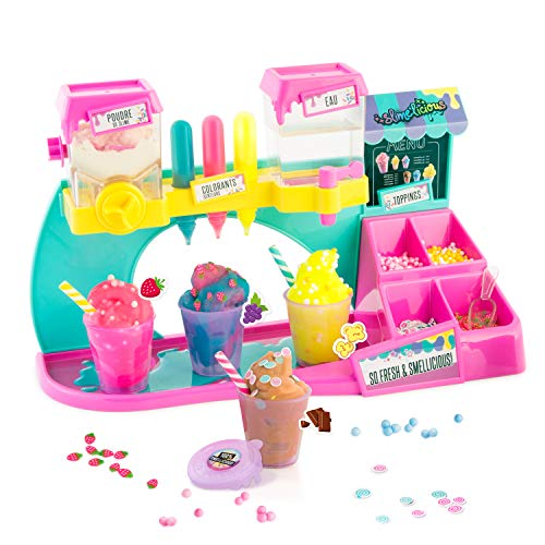 So Slime- SLIMELICIOUS Factory SSC051 Juguete, Color Rosa y Verde (Canal Toys 31)