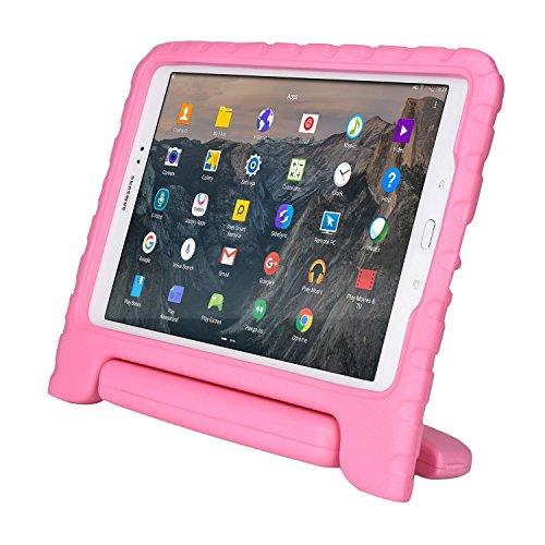 Cooper Cases(TM) Dynamo Samsung Galaxy Tab A 9.7 (SM-T550) Hülle für Kinder in Rosa (Leicht, ungiftiger EVA-Schaum, haltbares Design, Extraschutz, Freier Stand)