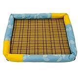 Zedo Pet Kühlung Matte Pad Bett Kissen Sommer Bambus Ice Matte Wärmeableitung für Katze Hund