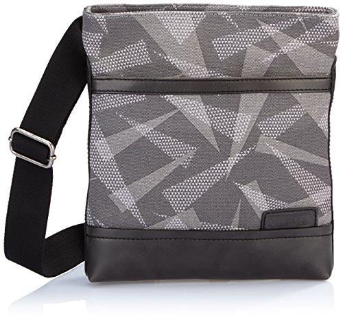 Calvin Klein Jeans Umhängetasche Paul Dazzle Flat Crossover Grau J5IJ500443 Preisvergleich