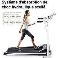 SummerRio Mini Tapis de Course Electrique Pliable Tapis de Marche Training Treadmill pour Marche Jogging et Fitness Sport Course Maison/Bureau (EU Stock)