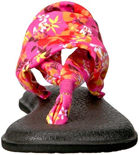Wmn Floreale Yoga Noir Fionda Congo Imprimés Sandalo Paradiso Sanuk Rosa Naturale 2 Waikiki qHw5S7w