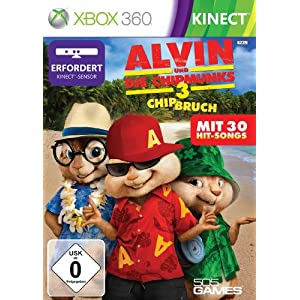 Alvin und Die Chipmunks 3 – Chip Bruch (Kinect) – [Xbox 360]