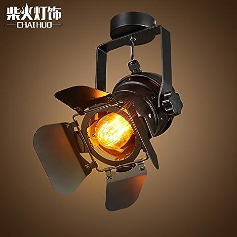 Industriale americano negozi di vento personalità creativa LED retrò Soggiorno come pranzo via lampada