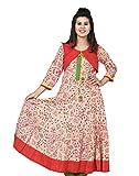 Chhipa Women Anarkali Kurta (1041_ Beige...