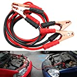 #7: NIKAVI Heavy Duty 6.5 FT 2 Gauge Booster Cable Jumping Cables Power Jumper (600 AMP)