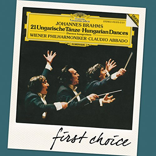 Brahms: Hungarian Dance No.7 in F / A