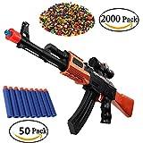Spielzeugpistolen für Kinder XAGOO 2-in-1 AK47 Schaum Dart und Wasser Polymer Ball Geschenk für Kinder