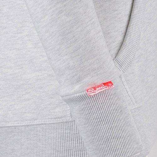 Superdry Sweater Women TRACK & FIELD Ice Marl hellgrau