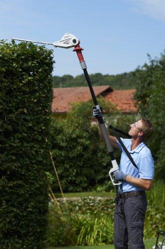 elektrische teleskop heckenschere test