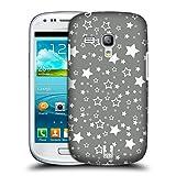 Head Case Designs Sterne Silber Urlaub Kollektion Snap-on Schutzhülle Back Case für Samsung Galaxy S3 III mini I8190