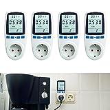 Asigo 4er Set Energiekosten-Messgerät